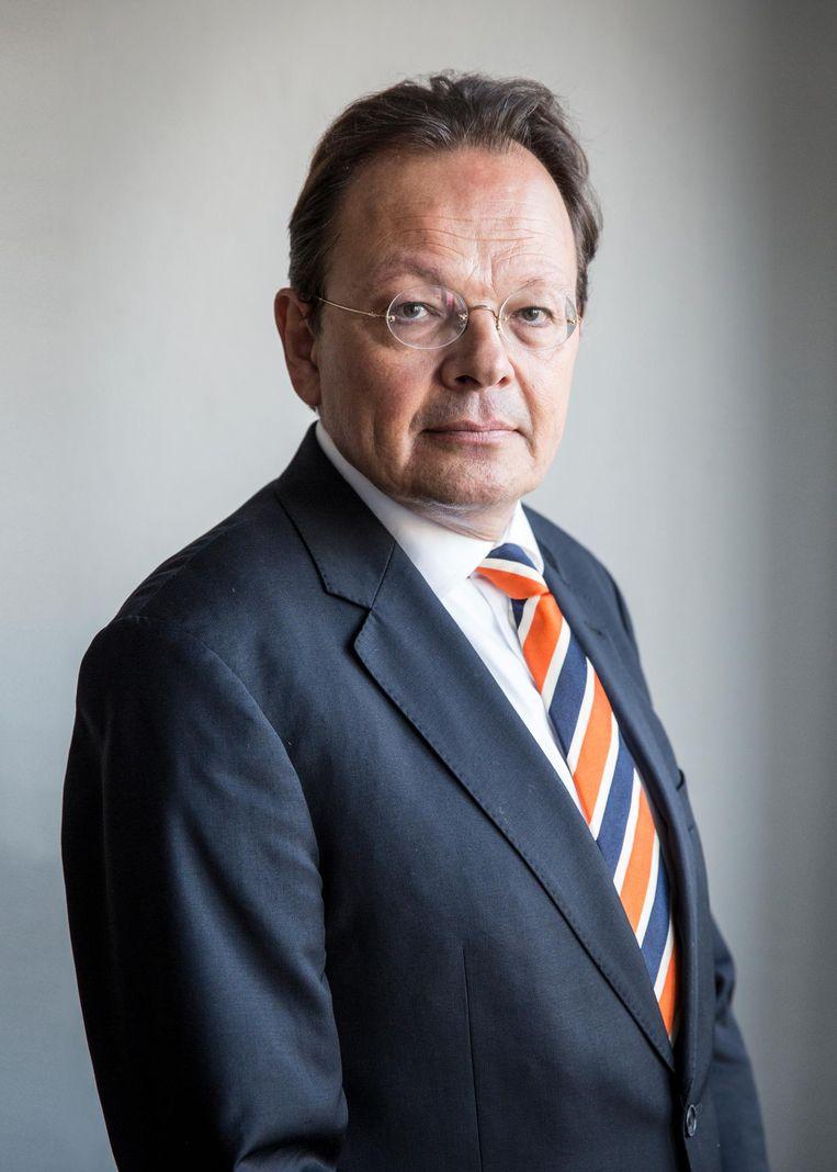 Edu van de Walle: 'Ik ben erg van het hard werken, niet zeuren, en ziek zijn is een keuze' Beeld Dingena Mol