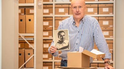 """KOERS-vrijwilliger Martin Coussement archiveert en verpakt 25.000 historische wielerfoto's in drie jaar: """"Ik heb nooit gedacht er mee te stoppen. Integendeel, het was enorm leerrijk"""""""
