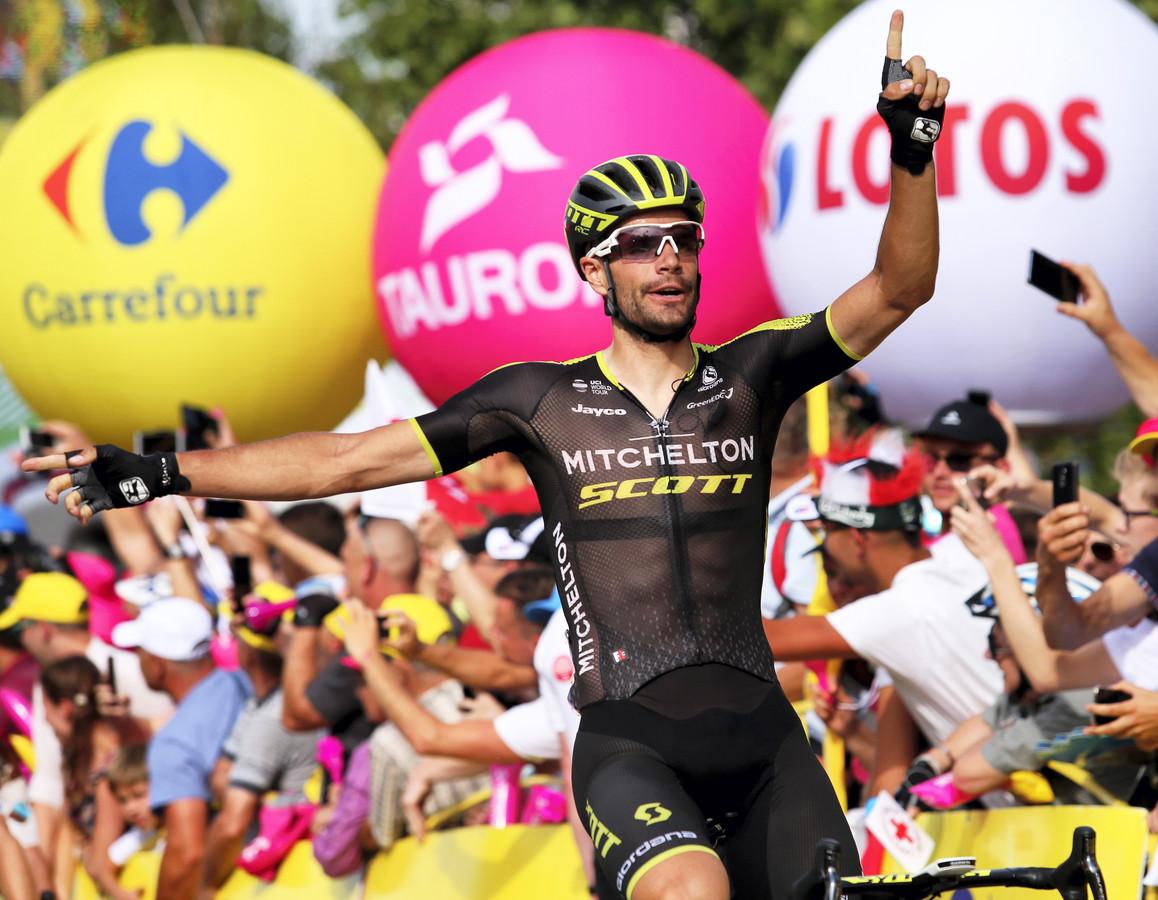 Mezgec wint de vijfde etappe.