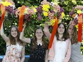 Vier geslaagde zusjes Hol in Valburg