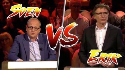 Wie is 'De Grappigste Mens Ter Wereld'? Sven en Erik vechten het uit