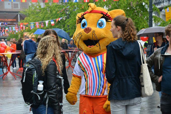 WEURO 2017, Fanzone Willemstraat Breda.