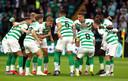 Celtic voorafgaand aan het duel met Sarajevo.