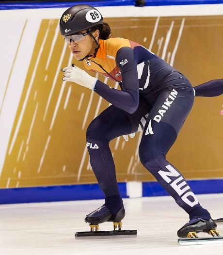 Georgie Dalrymple een rolmodel op schaatsen: 'Misschien kan ik andere Antillianen inspireren'