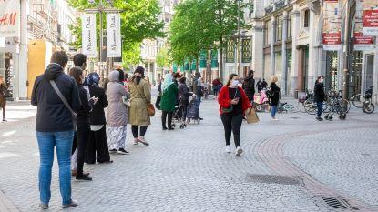 Winkels op Meir heropenen met extra maatregelen: geen massa volk, wel wachtrijen aan sommige ketens