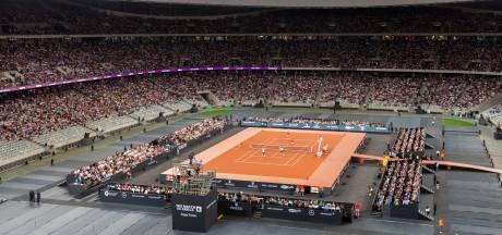 Federer en Nadal verbreken toeschouwersrecord in Kaapstad