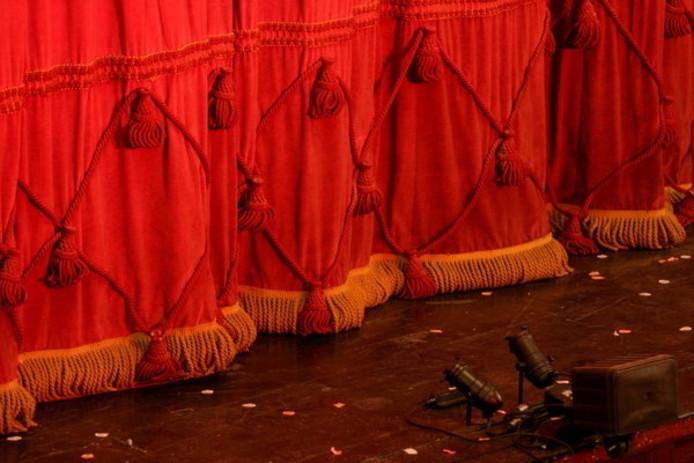 stockagenda stockfoto stockadr theater toneel uitgaan