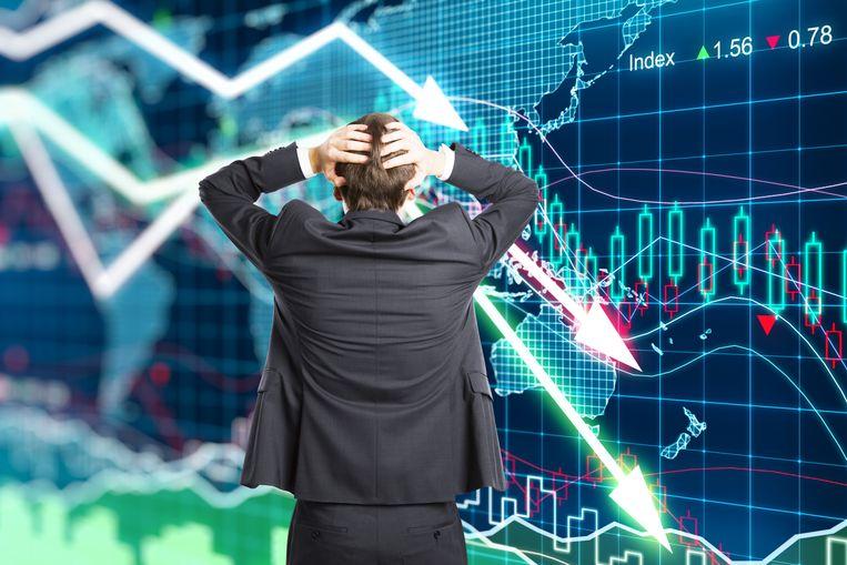 Grote onzekerheid duwt beleggers naar de uitgang.