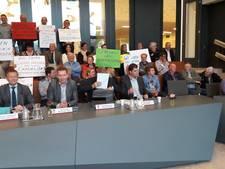 Stil protest tegen megastal Polweg