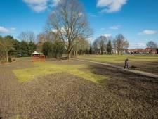Geen zorgen in Wapenveld na omgeploegd park