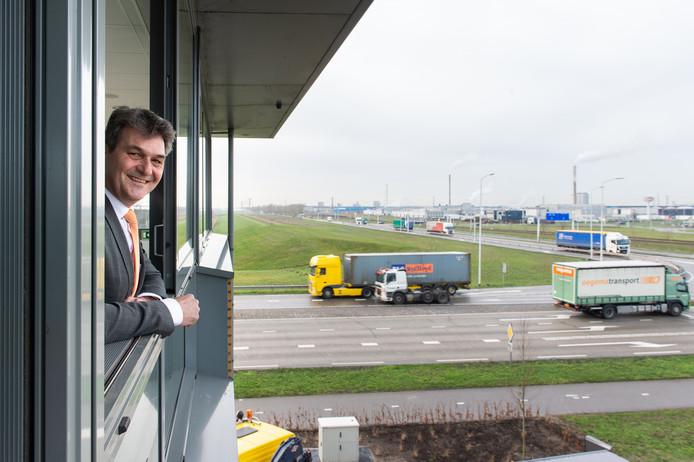 Ferdinand van den Oever,  directeur havenbedrijf Moerdijk. Pix4Profs/René Schotanus