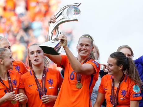 Wierdense Anouk Dekker opgenomen in elftal van het toernooi