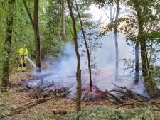 Drie natuurbrandjes op één dag in Wijchen