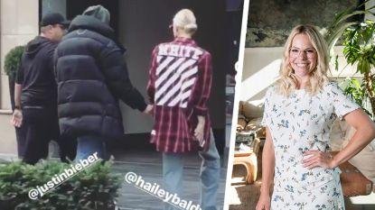 Werden Justin Bieber en Hailey Baldwin net in Antwerpen gespot door Eline De Munck?