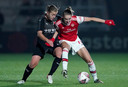 Vivianne Miedema in actie tegen Slavia Praag.