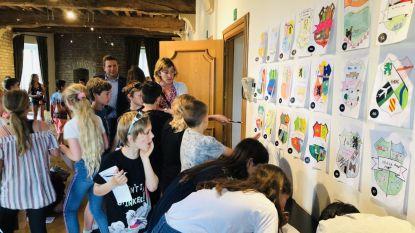 Kasteeltraditie in ere gehouden: leerlingen ontwerpen wapenschild voor toekomstige bewoners assistentiewoningen Kasteel van Ham