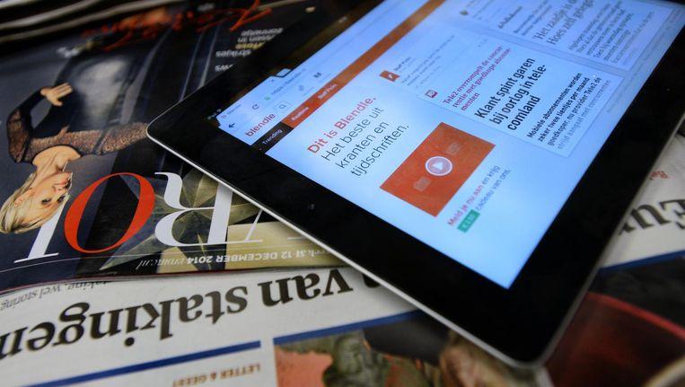Bij Blendle koop je artikelen uit kranten en tijdschriften per stuk Beeld ANP