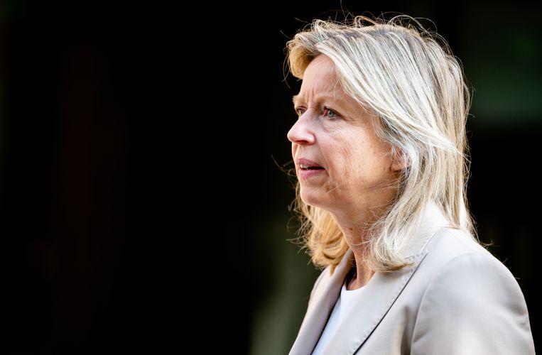 Minister Kajsa Ollongren van Binnenlandse Zaken en Koninkrijksrelaties (D66). Beeld ANP