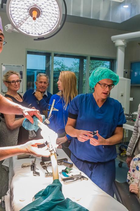 Knie-operatie in trek tijdens open dag Antonius Ziekenhuis