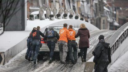 """""""Stel niet-dringende verplaatsingen uit"""": VAB vreest dat sneeuw morgen ochtend- en avondspits in de war zal sturen"""