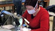 Confectiebedrijf Accent uit Erpe-Mere klaar om met de hulp van vrijwilligers duizenden mondmaskers te maken