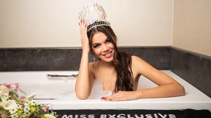 """Oost-Vlaamse Kimbery is Miss Exclusive 2020: """"Ik ben heel blij, maar ook bezorgd"""""""