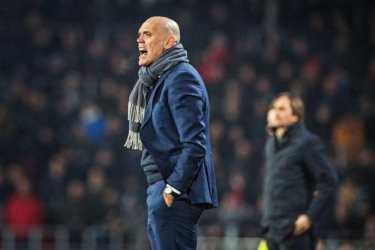 Jurgen Streppel. de nieuwe trainer van Roda JC. Beeld Guus Dubbelman / de Volkskrant