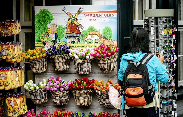 Giethoorn, een populaire bestemming voor toeristen en dagjesmensen.  Beeld ANP, Robin Lonkhuijsen