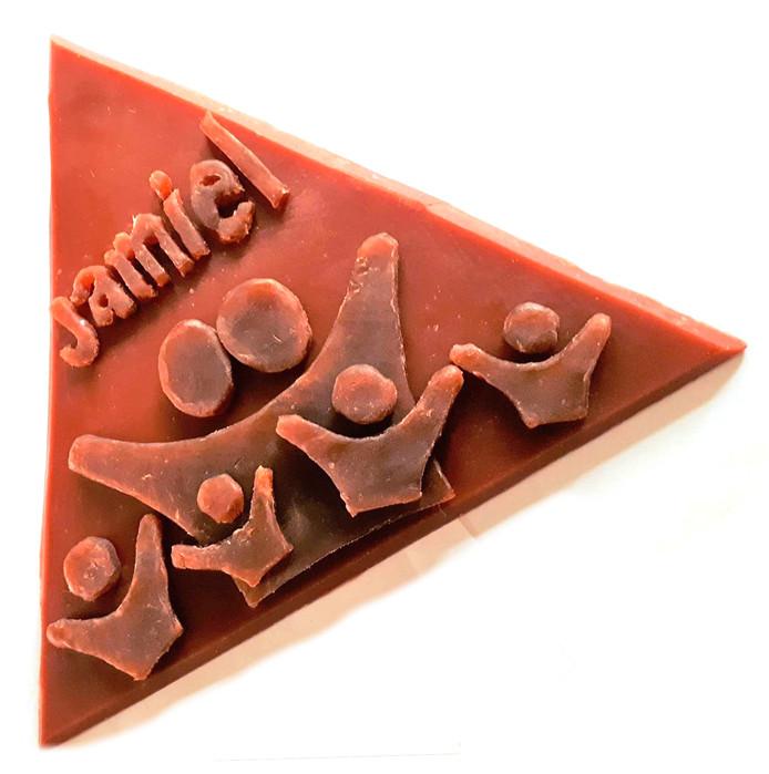 Driehoek voor kunstwerk Ouwe Sok voor Roosendaal 750 jaar