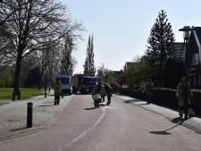 Brandweer verwijdert 'oliespoor' in Vriezenveen