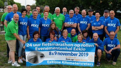 Eeklose Kilometervreters fietsen met 27 sportievelingen '1.000 kilometer tegen kanker': vrijdag passage door Eeklo