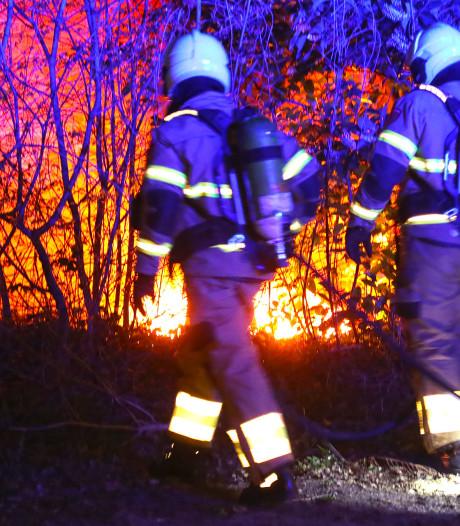 Brand bij restaurant in Oss blijkt afvalbrandje ernaast
