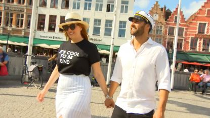 Jules en Cameron van 'Blind getrouwd - Australië' in België