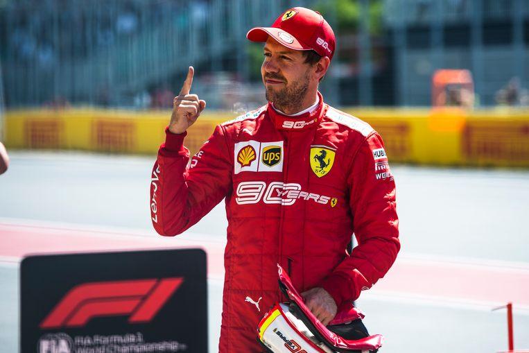 Sebastian Vettel pakte de pole, maar kan hij ook in de race bevestigen?