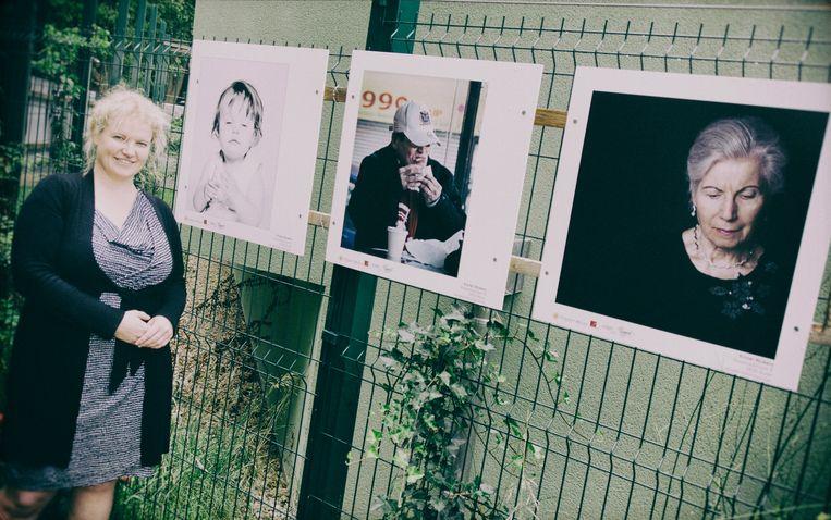 Kristel Nijskens, hier bij haar fotowerk, komt nu naar buiten met haar werk als illustrator.