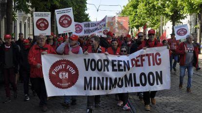 ABVV-mars trekt door Antwerpen voor meer koopkracht