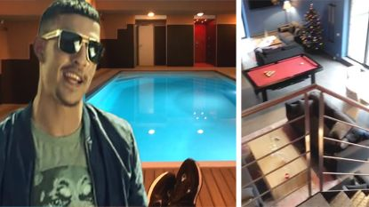 Rapper Boef baadt in luxe op schrijverskamp in Ardennen