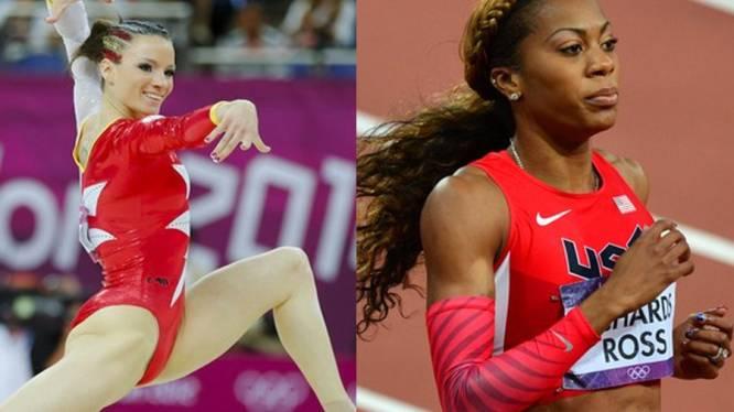 Sportief en trendy: atletes zijn dol op vlechtjes