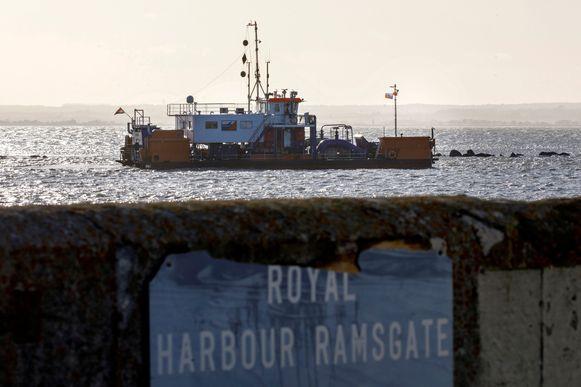 Een illustratiebeeld van de haven van Ramsgate.