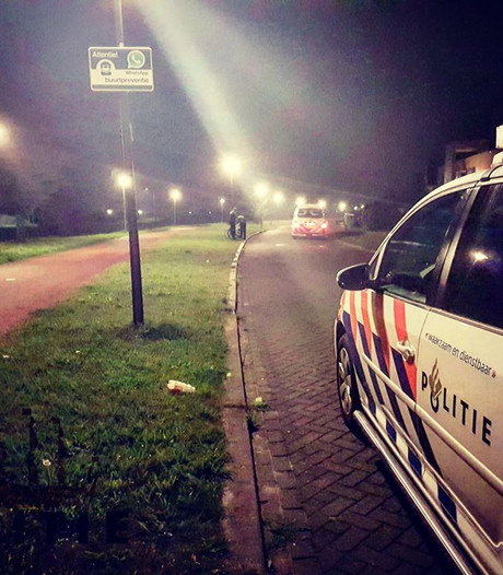 Inbrekers na achtervolging gepakt in Lelystad