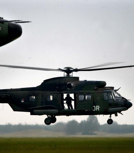 Luchtmacht oefent bevrijden van gijzelaars in Hardinxveld
