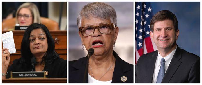 Democratische afgevaardigden Pramila Jayapal (Washington State),  Bonnie Watson Coleman (New Jersey) en Brad Schneider (Illinois) blijken een kleine week na de Capitoolbestorming besmet met Covid-19.