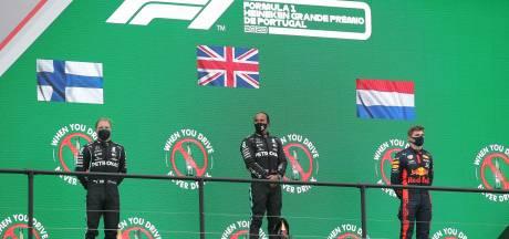 Verstappen: Gat met Mercedes was groot, maar podiumplaats is prima