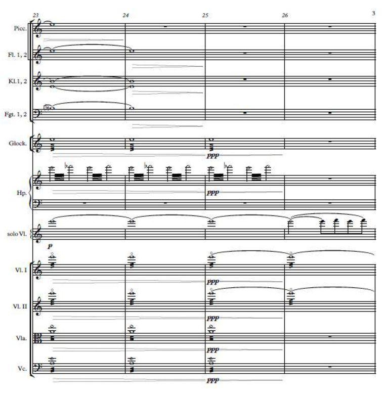 Wantenaars Fantasie voor viool en orkest: goed te doen voor amateurmusici. Beeld
