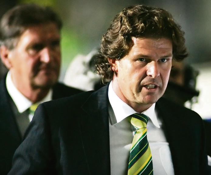 Frans Adelaar in 2006 als trainer van ADO.
