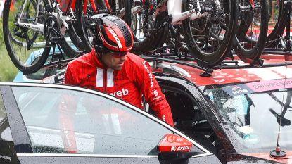 Dumoulin ondervindt te veel hinder van zijn val en stapt uit Giro