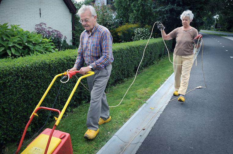 Pensionado's in Bodegraven. Beeld ANP / Marcel van den Bergh