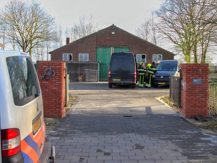 Drugslab ontdekt in Evertsoord: politie zet omgeving af