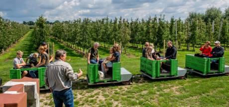 Met de Ommerense Elstar-Express weet je op het eindstation alles over voedsel en natuur