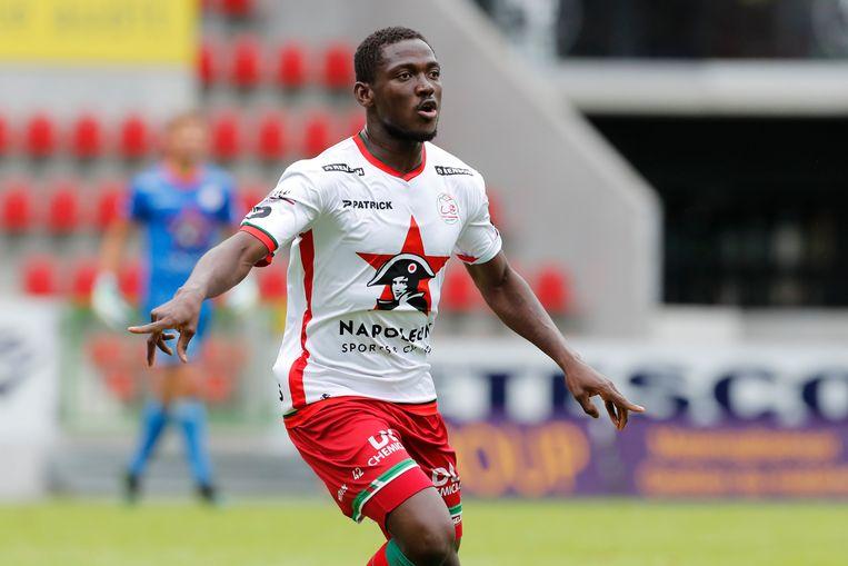 Daniel Opare maakte de - transfervrije - overstap van Antwerp naar Zulte Waregem